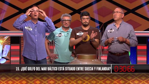 «Los Lobos» ante la última pregunta para ganar el bote de «¡Boom!»