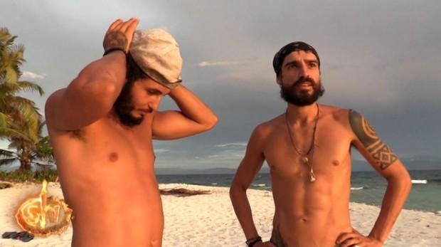 Omar y Fabio, finalistas de Supervivientes