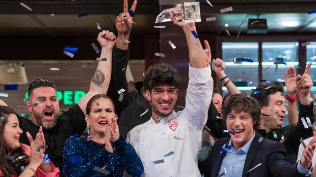 Final de la última edición de MasterChef, que concluyó con la victoria de Aleix