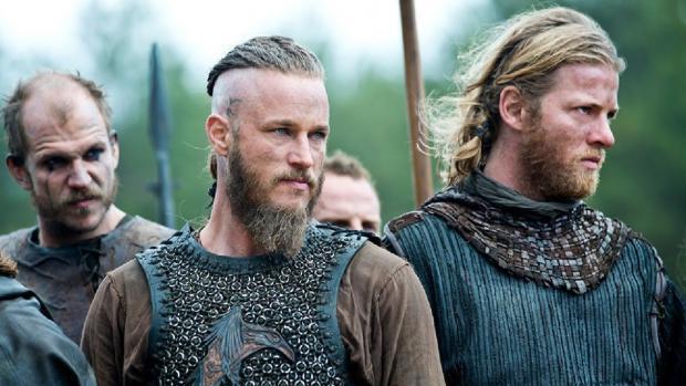 Fotograma de Vikingos, una de las series que más engancha a la audiencia, creación por Michael Hirst