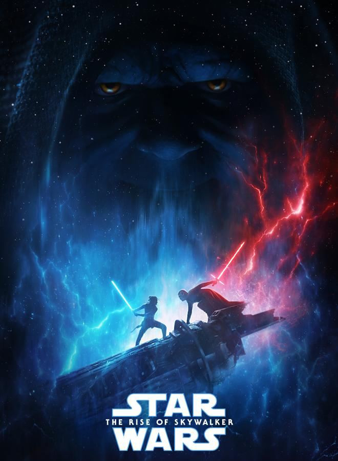 Cartel oficial de «Star Wars: the raise of Skywalker»
