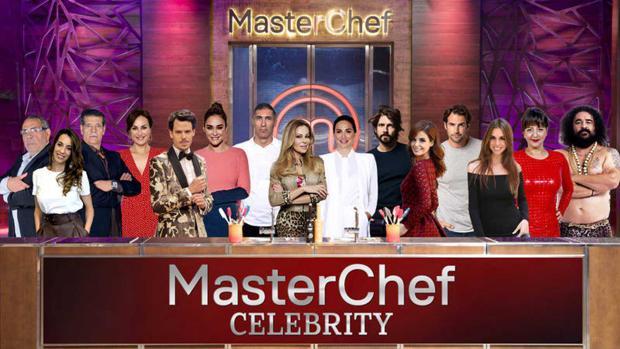 Montaje de los concursantes de «MasterChef Celebrity 4»