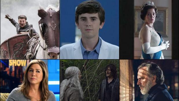 «Vikingos», «The Good Doctor», «The Crown», «The Morning Show», «The Walking Dead» y «Vivir sin permiso» son algunas de las series que llegarán en los próximos meses a la televisión