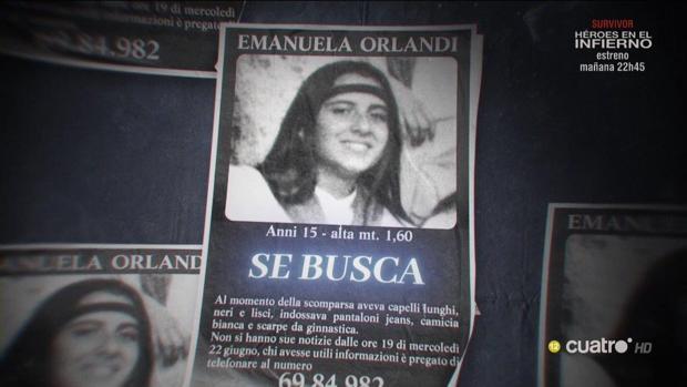 Cuarto milenio: El enigmático caso de Emanuela Orlandi, la ...