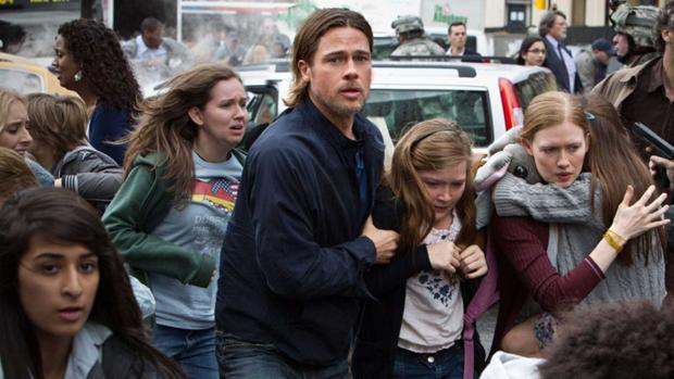 Brad Pitt es un investigador de las Naciones Unidas en «Guerra Mundial z»