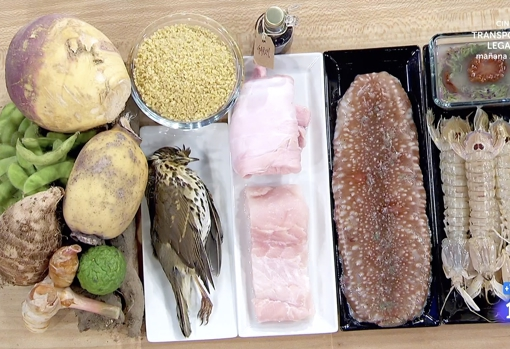 Los exóticos ingredientes de la prueba final