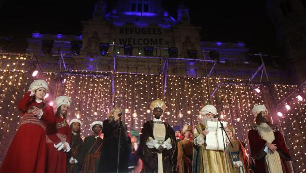 Cabalgata de los Reyes Magos en Madrid el año pasado
