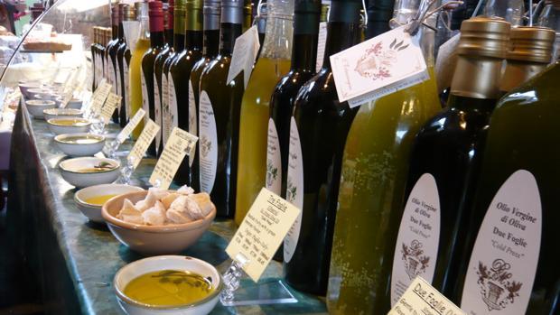 Muestra de aceite de oliva