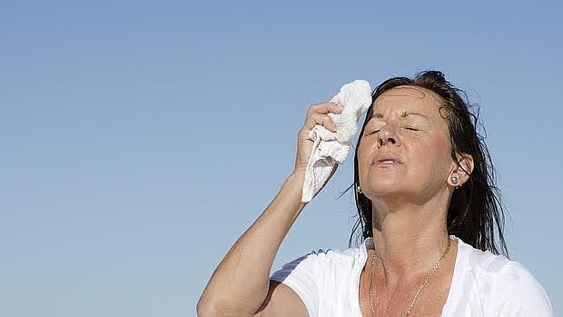Los sofocos son uno de los síntomas característicos de la menopausia