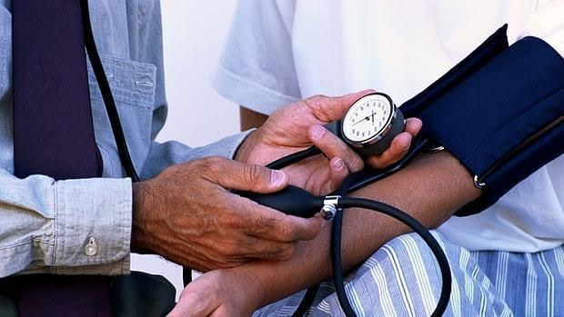 Presión arterial sistólica alta en la tarde