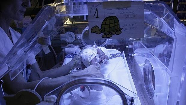 Unidad de niños prematuros del hospital del Ríohortega, Valladolid