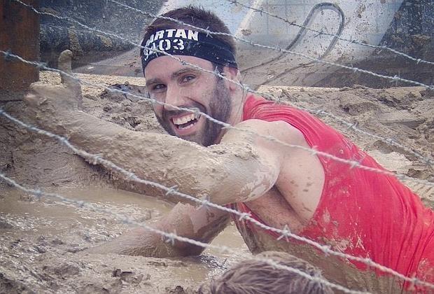 Francesc Gascó en la Spartan Race