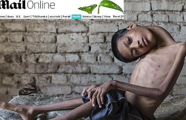Mahendra Ahirwar tiene 13 años y vive en la India