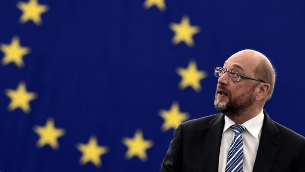 El presidente del Parlamento Europe, Martin Sculz