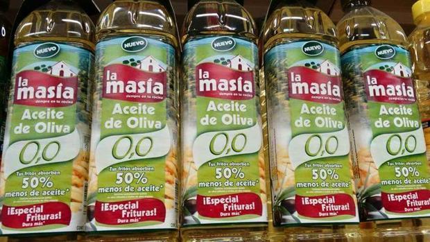 El reclamo 0,0 ene ste aceite de oliva podía confundir al consumidor