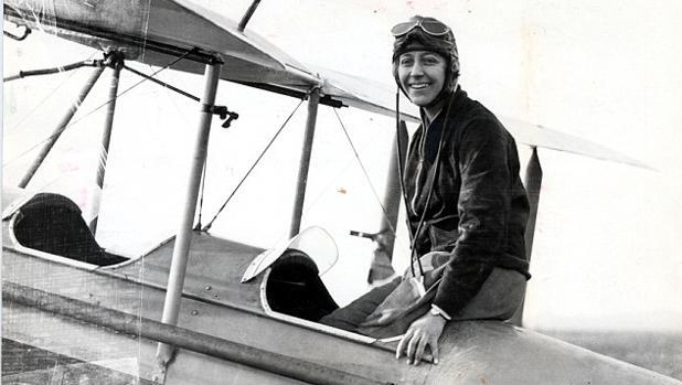 Amy Johnson, la pionera de la aviación británica cuya muerte sigue sin esclarecer