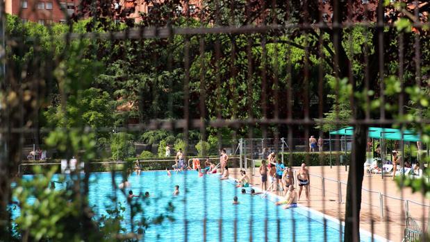 Una piscina municipal