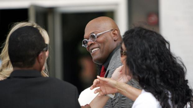 Actores como Samuel L. Jackson lucen orgullosos su «look» sin pelo