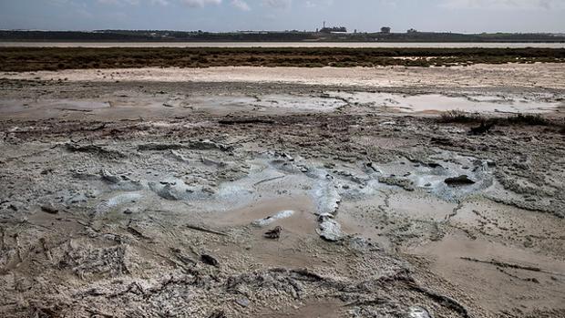 Filtraciones de las balsas de fosfoyesos en Huelva