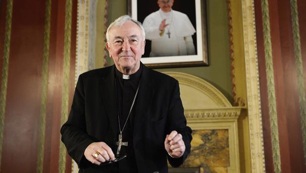 Cardenal Vicent Nichols, arzobispo de Westminster