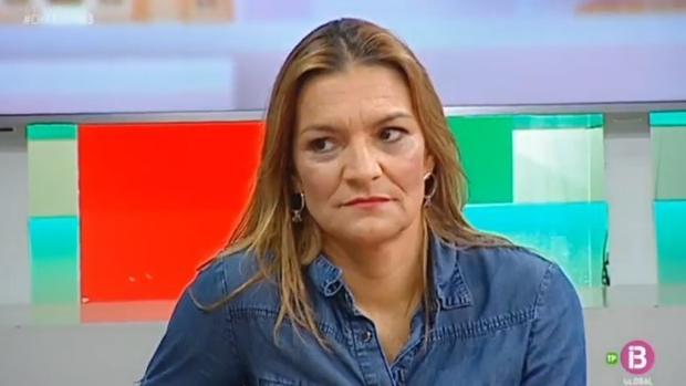 Carmen Luciane, durante el programa