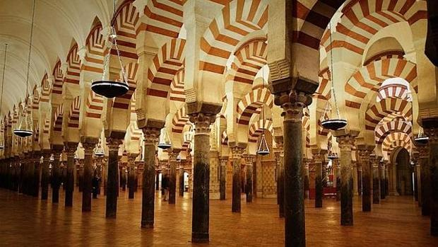 Imagen dr archivo de la Mezquita de Córdoba