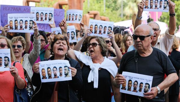 Manifestación en contra de la sentencia de La Manada