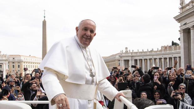 El Papa Francisco, la semana pasada