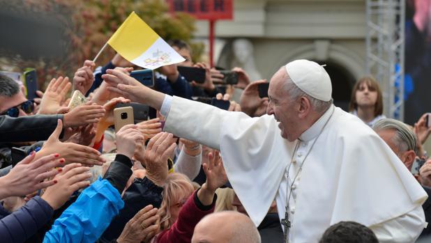 El Papa Francisco, este martes, en Macedonia