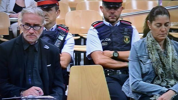 Fernando Blanco y Marga Garau, padres de la menor Nadia, en el juicio juicio, caso Nadia