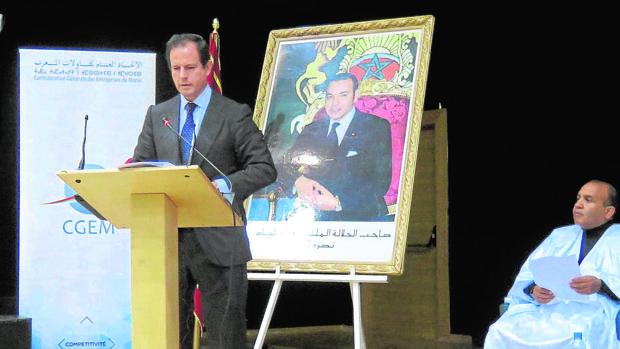 El secretario general de Cepesca, Javier Garat