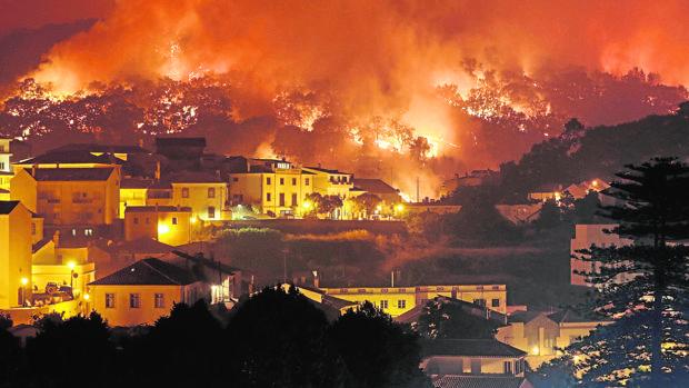 Los incendios han ido aumentando de intensidad