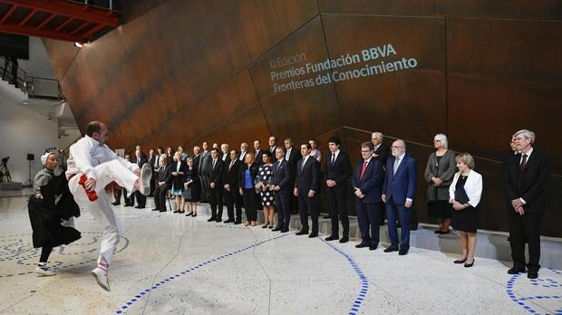 Los galardonados en los Premios Fundación BBVA Fronteras del Conocimiento