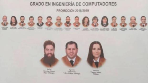 De Izquierda a derecha: Rafael Hormigo, Agustín Téllez y Verónica Vigaray