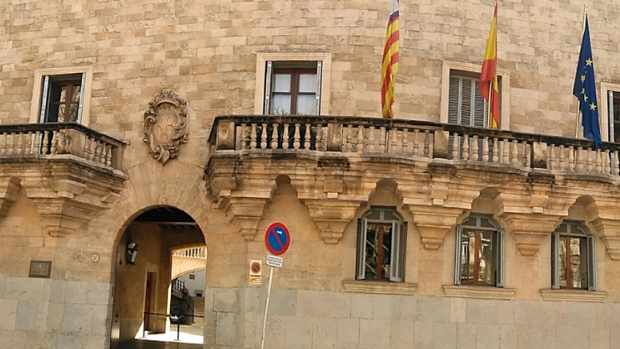 Vista exterior de la Audiencia Provincial de Palma