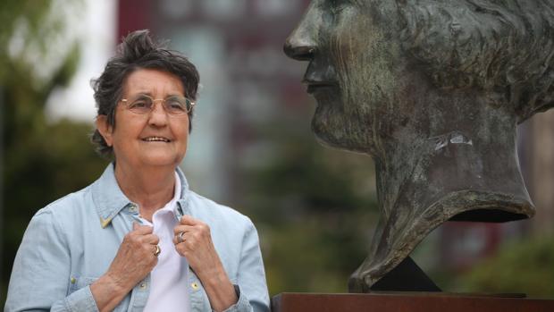 Blanca Estrella, presidenta de la Asociación Calara Canpoamor
