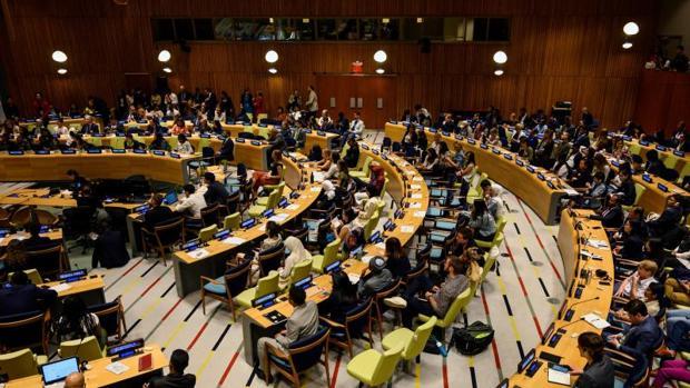Jóvenes activistas participan este sábado de la primera Cumbre Climática Juvenil de las Naciones Unidas