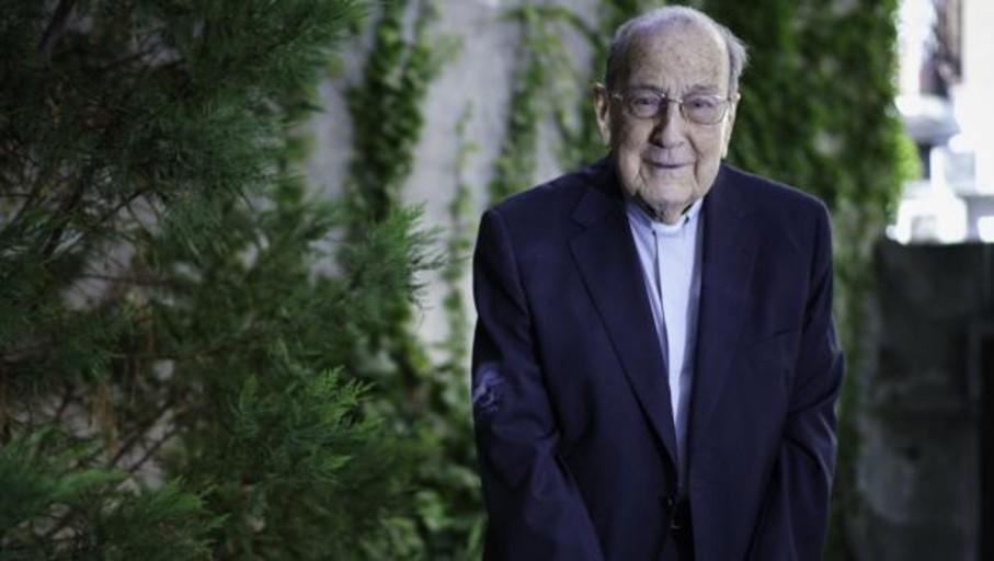 El misionero español más longevo afirma que a sus 102 años su salud «no es buena ni mala; es anormal»