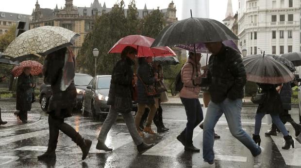 Un nuevo temporal de lluvia y viento llega a la Península
