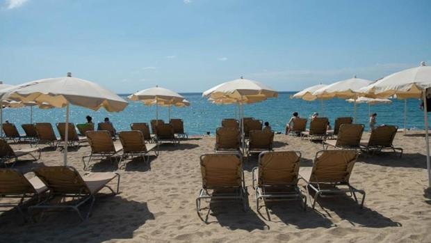 Las playas de Barcelona, a medio gas el pasado 8 de julio