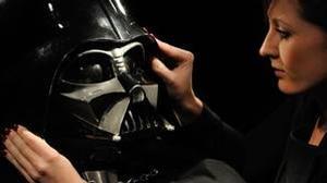 La máscara de Darth Vader, una de las subastas más icónicas