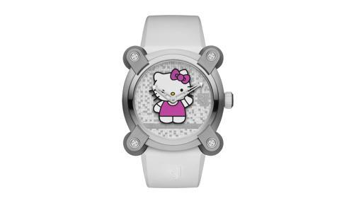El reloj RJ X Hello Kitty