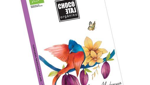 La tableta de chocolate negro 65% de cacao de Organiko