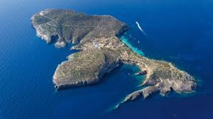 Alquilar una isla privada al lado de Ibiza