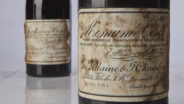 Las botellas de vino Romanee Conti subastadas en Sotheby´s Nueva York