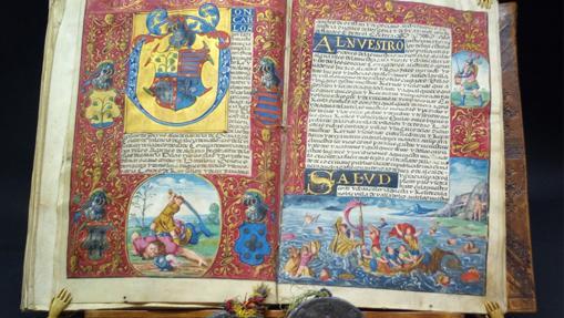 Códice Iluminado español del S. XVI