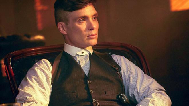 El protagonista Thomas Shelby interpretado por Cillian Murphy