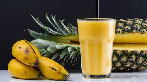 Smoothie de mango, piña, plátano de Magasand