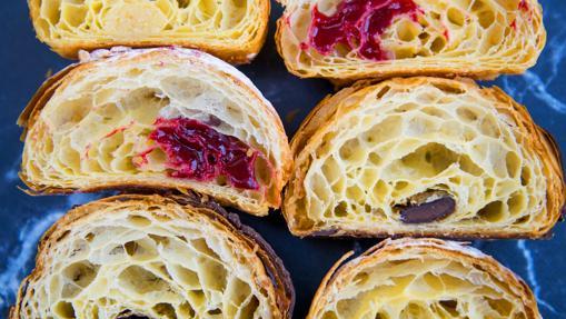 Los croissants rellenos de Mamá Framboise