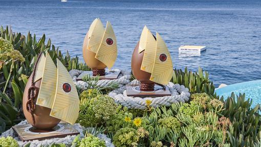 El huevo de chocolate del Hotel Du Cap-Eden-Roc en Cap D'Antibes (95 euros)